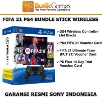 PS4 FIFA 21 Bundle Stick DS4 Wireless Controller Voucher FUT