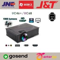Proyektor UNIC UC 68 UC46+ LED Projector UC68 1800 Lumen WIFI 1080