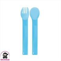 NINIO Baby Spoon Fork Sendok Garpu Bayi