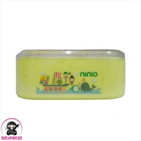 NINIO Powder Case Twin Tempat Bedak Bayi Oval