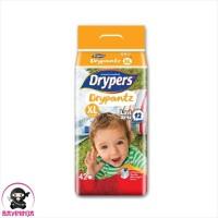 DRYPERS Drypantz Popok Celana Bayi 12 Jam XL42 XL 42