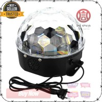 Crystal Magic Ball Disco LED 20W - AC20 KUALITAS TERBAIK