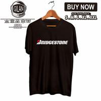 Kaos Baju Bridgestone logo Ban Mobil Motor Racing Otomotif - Gilan - S