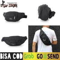 Tas Waistbag Distro Outvin / Tas Selempang / Tas waistbag Brand Lokal