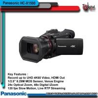 Panasonic HC-X1500 UHD 4K HDMI Pro Camcorder with 24x Zoom