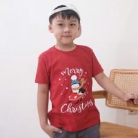 L037 kaos anak tema natal