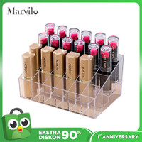[FREE CERMIN MINI] Marvilo Make Up Organizer Acrylic 24 Sekat