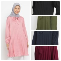 KAYSER bushra baju atasan muslim wanita prisket
