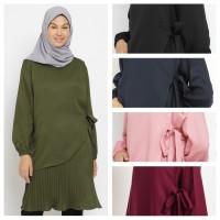 KAYSER fadiyah baju atasan tunik muslim wanita prisket