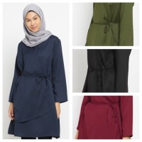 KAYSER choti baju atasan tunik muslim wanita kimono