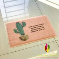 Door Mat Trendy SET / Keset Rumah Kaki PVC Bihun - CRM9