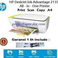 HP DeskJet Ink Advantage 2135 All-in-One Printer TERMURAH