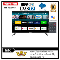 POLYTRON Smart Android Digital Mola TV 32inch PLD 32AG9953