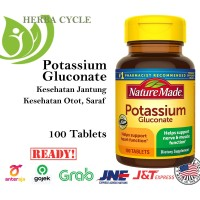 Nature Made Potassium Gluconate 550 mg (100 Tab) Potasium glukonate