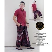 Batik Solo Sarung Celana Batik Phoenix Merah Nareswari TokoCahayaBaron