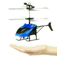MAINAN HELICOPTER HELIKOPTER SENSOR TANGAN TERBANG FLYING HELI GU AP01
