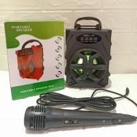 TJ-79 Speaker Bluetooth 105DW Plus Mic Big Sound Mini