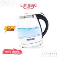 Teko Kaca Hemat Listrik Auto Electric Glass Kettle 1 Liter iL-113s