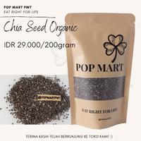 Black Chia Seed Organic / Organik Mexico 200 gram