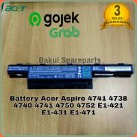 Battery Baterai Batre Original Laptop Acer Aspire E1-421 E1-431