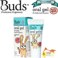 Ready Stock Buds Organic - Oral Gel 30Ml (0-12M) Promo