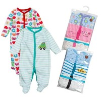 Babyshopeing-Sleepsuit Bayi 3In1 Tutup Kaki / Piyama Bayi Baju Bayi