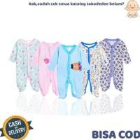 Perlengkapan Baju Sleepsuit Bayi Tutup Kaki Piyama Anak Bayi Baby 3In1