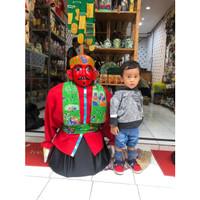 Ondel ondel 85 cm ( bisa masuk anak-anak umur 2-3 tahun ) - Merah
