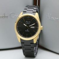 Jam Tangan Pria Alexandre Christie AC1012ME AC1012 AC 1012 Black Gold