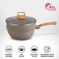 Welcook Elegante Granite Wok - 26 cm