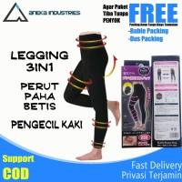 Legging Korset Peramping Perut Paha Brtis Kaki Wanita Lets Slimming
