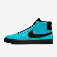 Nike sb blazer mid Baltic blue style 864349-400