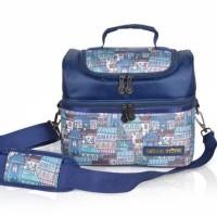 Terpercaya Natural Mom Cooler Bag Sling Tokyo Bag / Tas Asi Bayi