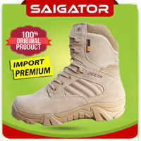 [GRATIS] Sepatu Delta Crodura Tinggi 8Inch