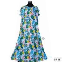 Daster Mega | Dress Vega Payung | Baju Midi Tidur | Big flower6