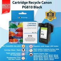 Catridge Tinta Canon PG810 Black New Cartridge PG 810 Katrid PG-810