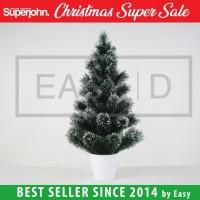 Pohon Natal Berkualitas Mini Pot ALASKA FIR 45 cm