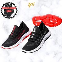 Sepatu Sneakers Fashion Wild & Include Box - Hitam, 39