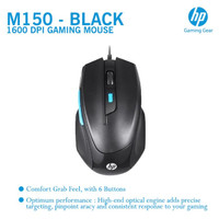 Mouse Gaming HP M150 Wired Hitam - original - M 150