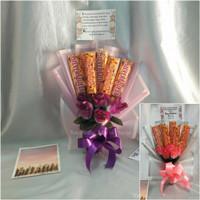 Buket bunga coklat | buket bunga hadiah wisuda | buket anniversary