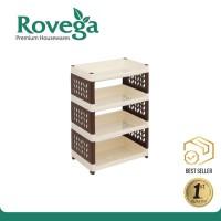 ROVEGA Rak Susun Lebar 4 level SMW400CDB ( Food Grade )