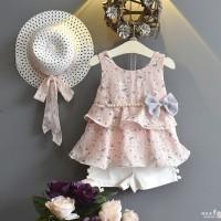 Dress Nararakids Anak Perempuan Summer Floral - 3-4 tahun