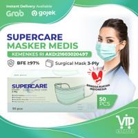 Masker Medis Earloop 50s Masker Wajah Kesehatan Surgical Facemask 3ply