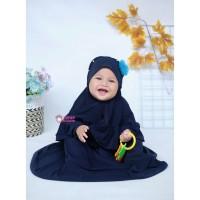 Gamis Anak / Baju Muslim Anak Perempuan / Gamis Bayi Newborn - 3 Tahun