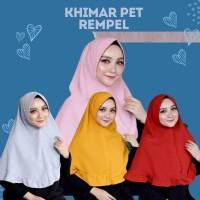 PET REMPEL ANTEM HIJAB JILBAB KHIMAR INSTANT / KHIMAR PET REMPEL