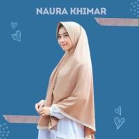 Khimar Naura Syari Renda Soft Pet (Tanpa Busa) / Jilbab Naura Diamond