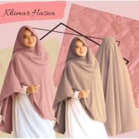 Khimar Hasna Size XXL / Khimar Wolvis Size XXL ( Pakai Pet)