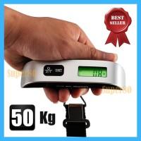 Timbangan Bagasi 50kg Digital Luggage Scale 50 kg Gantung Koper Tas