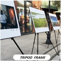 FRAME Stand Foto / Stand Display Foto / Stand Banner tripod