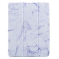 iPad Air 2 3 Fold Marble Smart Flip Case/Cover w.Pencil Holder